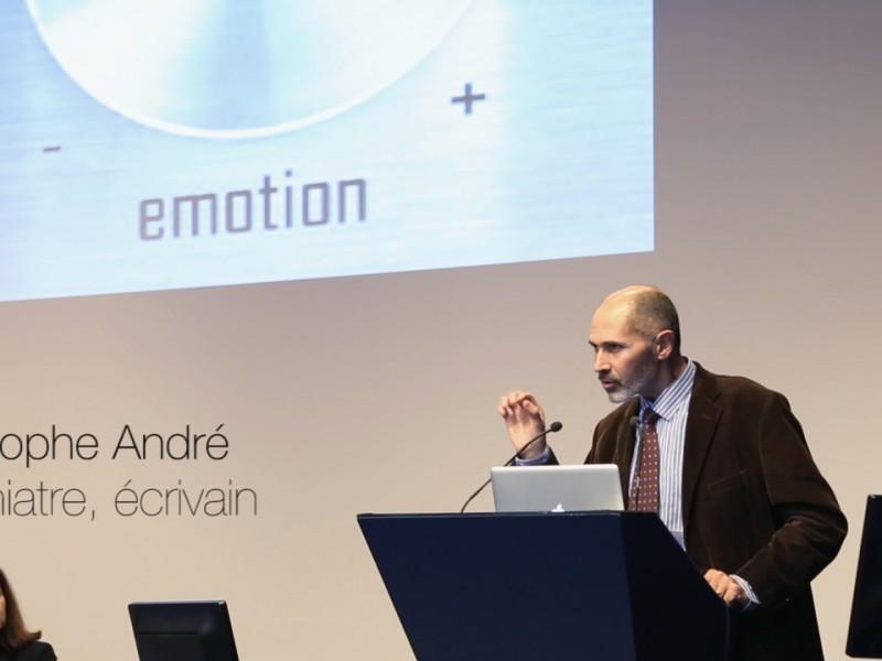 CAPTATION – Conférence de Christophe André à la Banque de France (extrait)