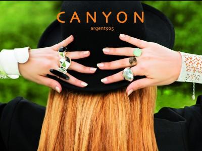 Campagne de pub des bijoux CANYON