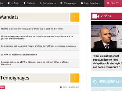 PUBLICITE Tutoriel – Le nouveau site web d'Instit Invest